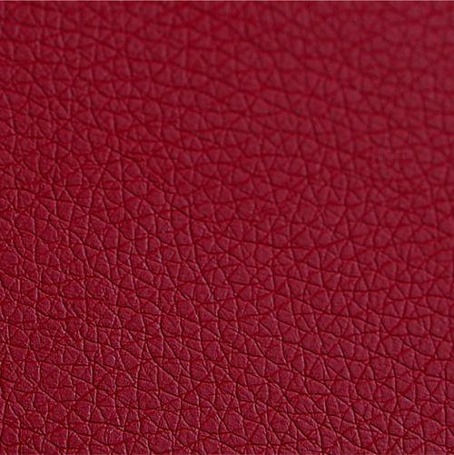 Mostră piele ecologică - culoarea roșie